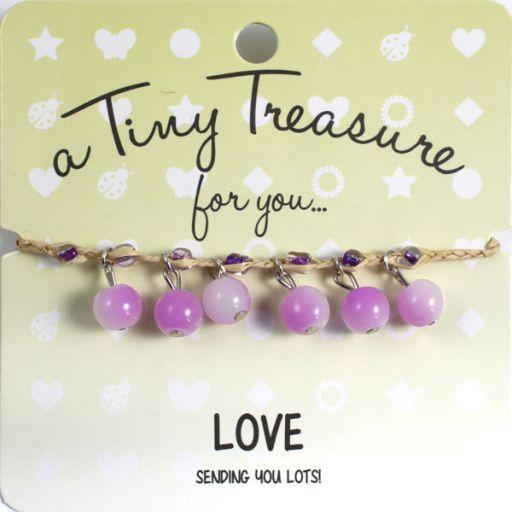 TT19 - Tiny Treasure armband Love
