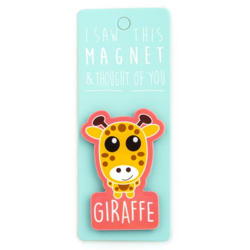 I saw this Magnet and .... - MA080 - Giraffe