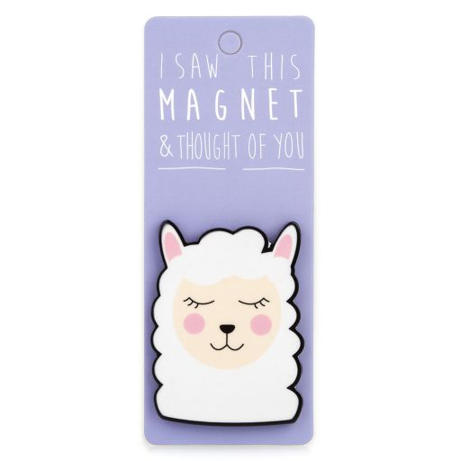 I saw this Magnet and .... - MA121 - Lama