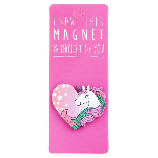 I saw this Magnet and .... - MA124 - Unicorn Heart