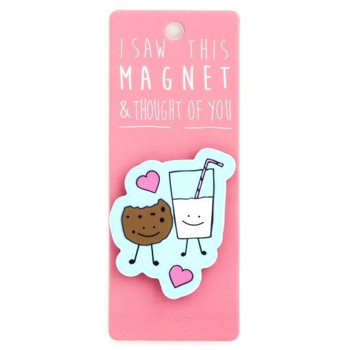 I saw this Magnet and .... - MA133 - Cookie & Milk