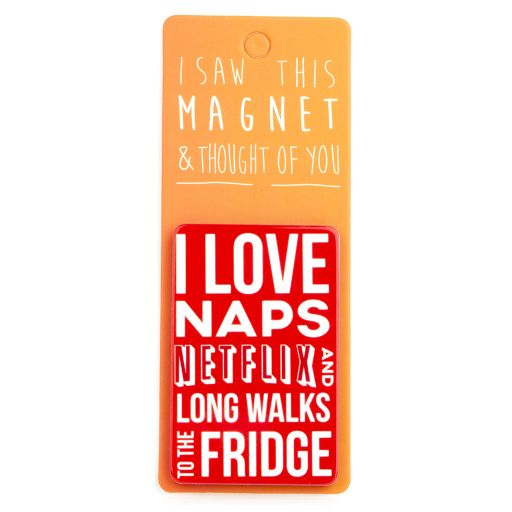 I saw this Magnet and .... - MA139 - I love naps