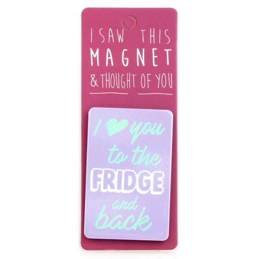 I saw this Magnet and .... - MA141 - To the fridge and back