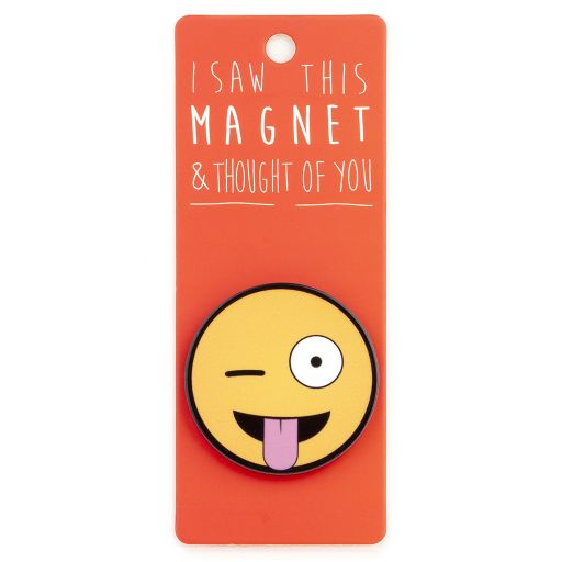 I saw this Magnet and .... - MA178 - Tong out Emoji
