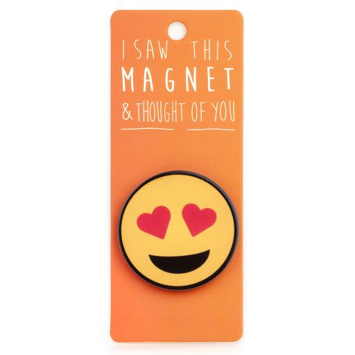 I saw this Magnet and .... - MA179 - Heart Eyes Emoji