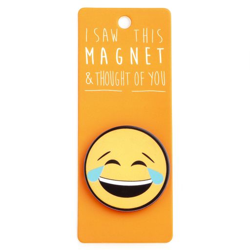 I saw this Magnet and .... - MA180 - Crying Laughing Emoji