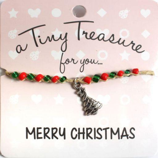 Tiny Treasure armband - Merry Christmas