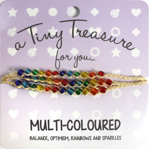 Tiny Treasure armband - Multi Coloured