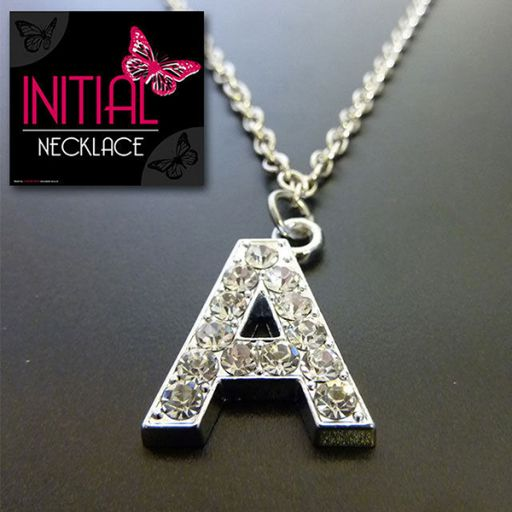 Ketting - Initial Jewellery - Letter A