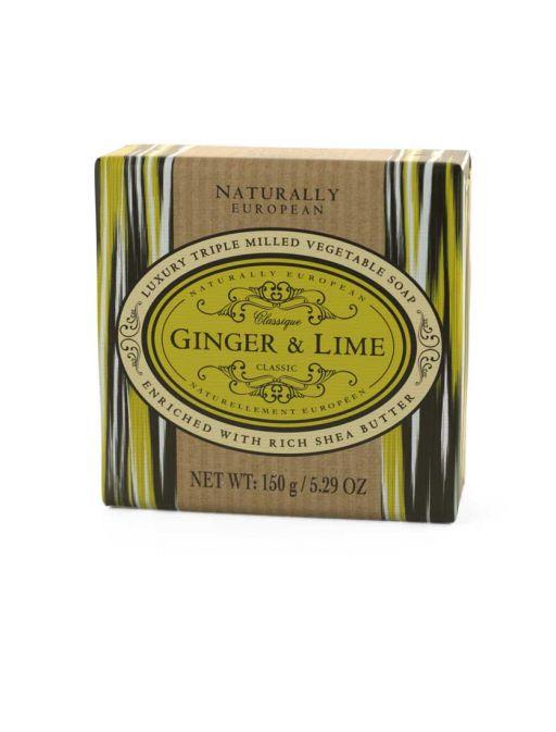NE Soap Bar - Ginger & Lime