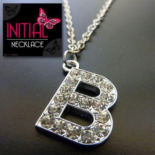 Ketting - Initial Jewellery - Letter B