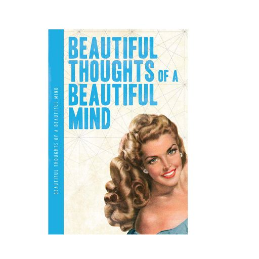 Notebook XL - Beautiful Thoughts of a Beautiful Mind