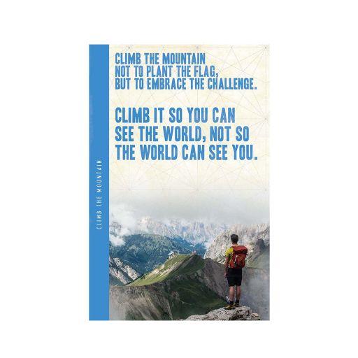 Notebook XL - Climb the Mountain