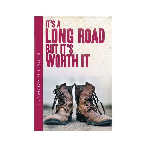 Notebook XL - It's a long road.....