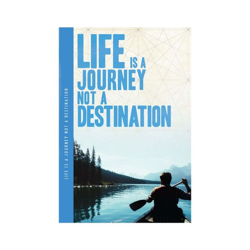 Notebook XL - Life is a journey......