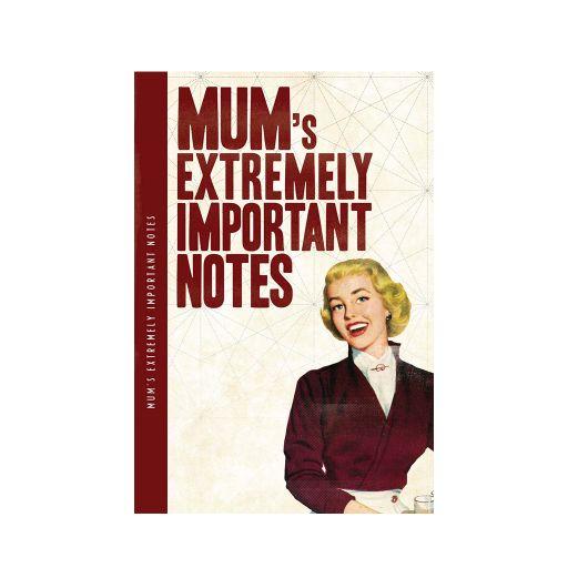 Notebook XL - Mum's notes