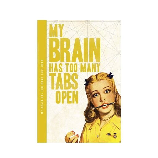 Notebook XL - My brain....