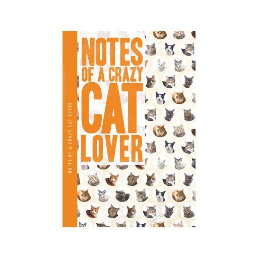 Notebook XL - Crazy cat lover