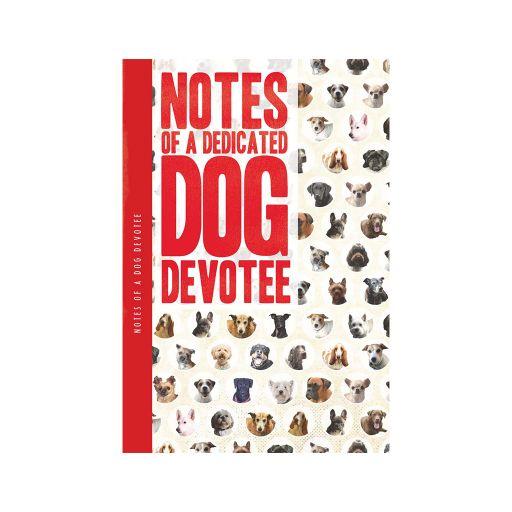Notebook XL - Dedicated dog devotee