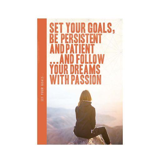 Notebook XL - Set your goals