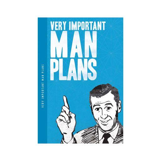 Notebook XL - Man Plans