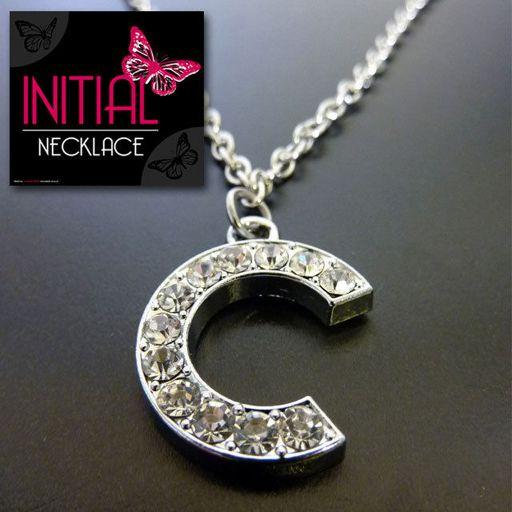 Ketting - Initial Jewellery - Letter C
