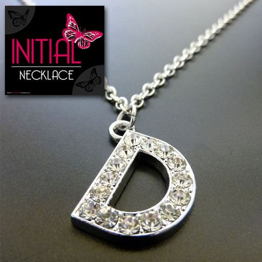 Ketting - Initial Jewellery - Letter D