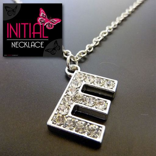 Ketting - Initial Jewellery - Letter E