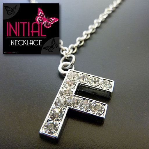Ketting - Initial Jewellery - Letter F