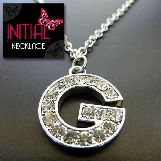 Ketting - Initial Jewellery - Letter G
