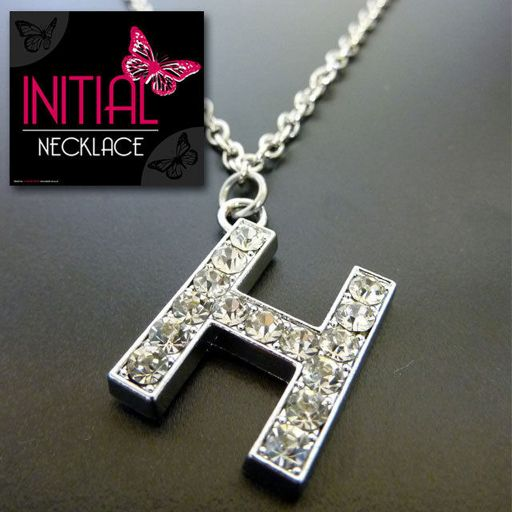 Ketting - Initial Jewellery - Letter H