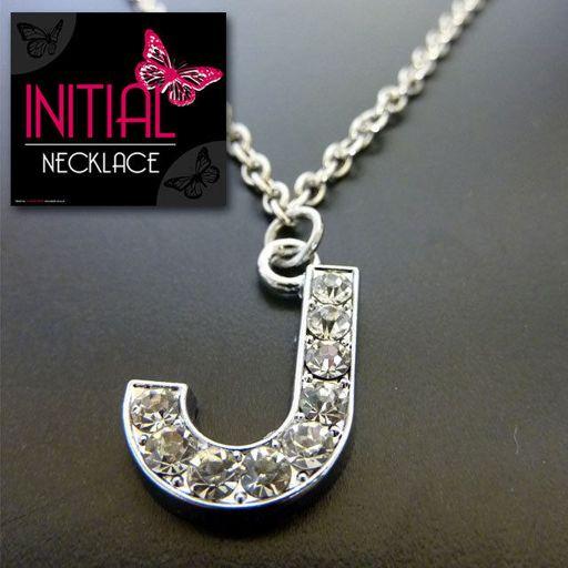 Ketting - Initial Jewellery - Letter J