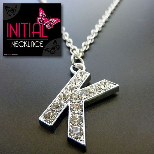 Ketting - Initial Jewellery - Letter K