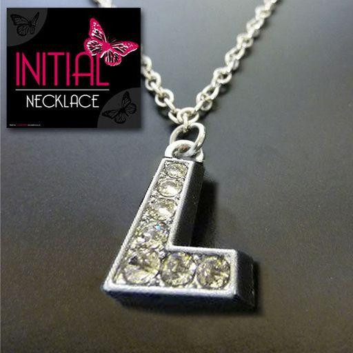Ketting - Initial Jewellery - Letter L