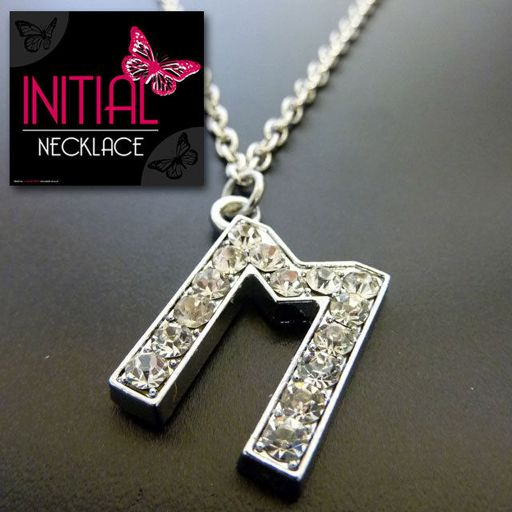 Ketting - Initial Jewellery - Letter M
