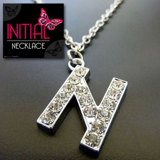 Ketting - Initial Jewellery - Letter N