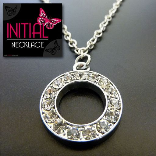 Ketting - Initial Jewellery - Letter O