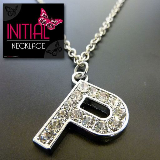 Ketting - Initial Jewellery - Letter P