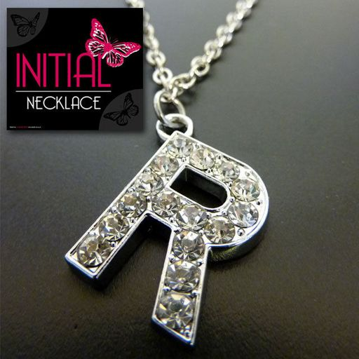 Ketting - Initial Jewellery - Letter R
