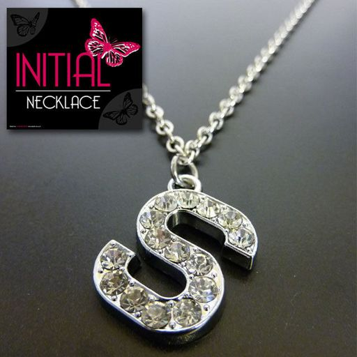 Ketting - Initial Jewellery - Letter S