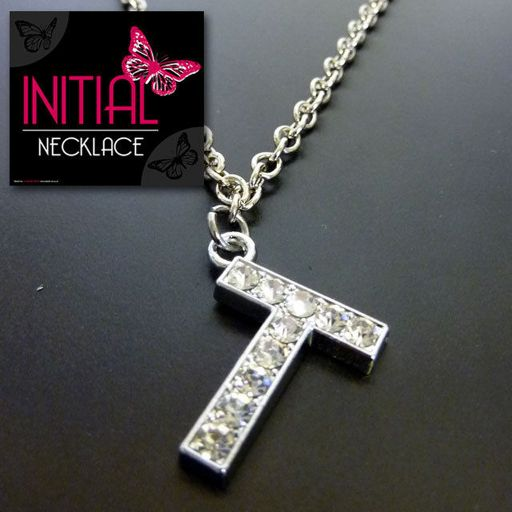 Ketting - Initial Jewellery - Letter T