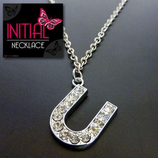 Ketting - Initial Jewellery - Letter U