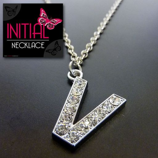 Ketting - Initial Jewellery - Letter V