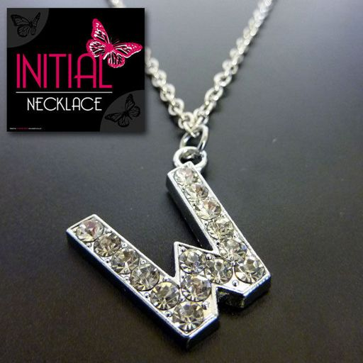 Ketting - Initial Jewellery - Letter W