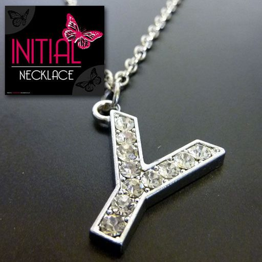 Ketting - Initial Jewellery - Letter Y