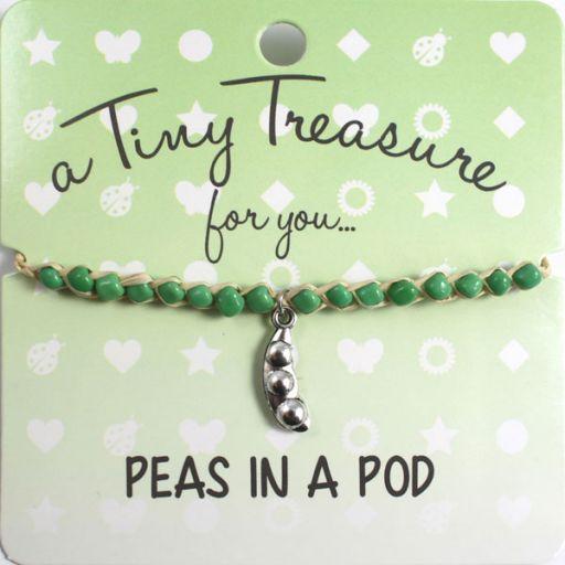 Tiny Treasure armband - Peas in a Pod