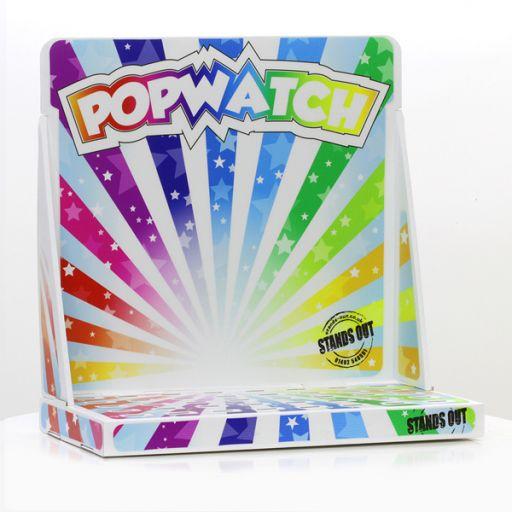 D671 - Tafeldisplay Karton voor de PopWatches