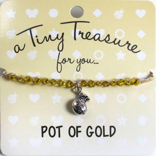 Tiny Treasure armband - Pot of Gold