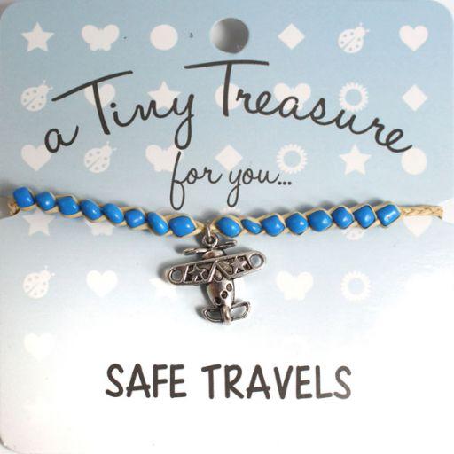 Tiny Trease armband - Safe Travels
