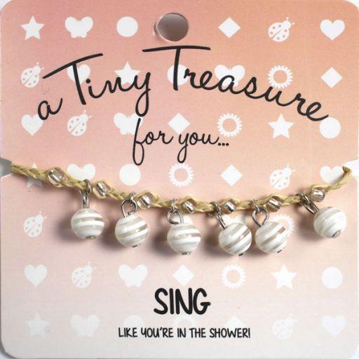 Tiny Treasure armband - Sing